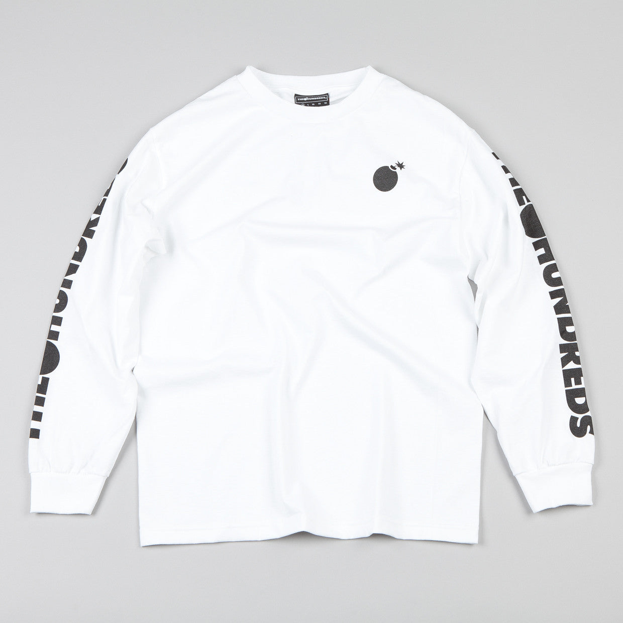 The Hundreds Cobuck Long-sleeve T-shirt White