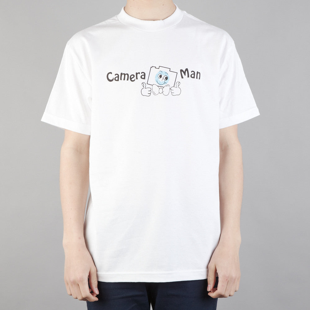 The Quiet Life Camera Man T Shirt White