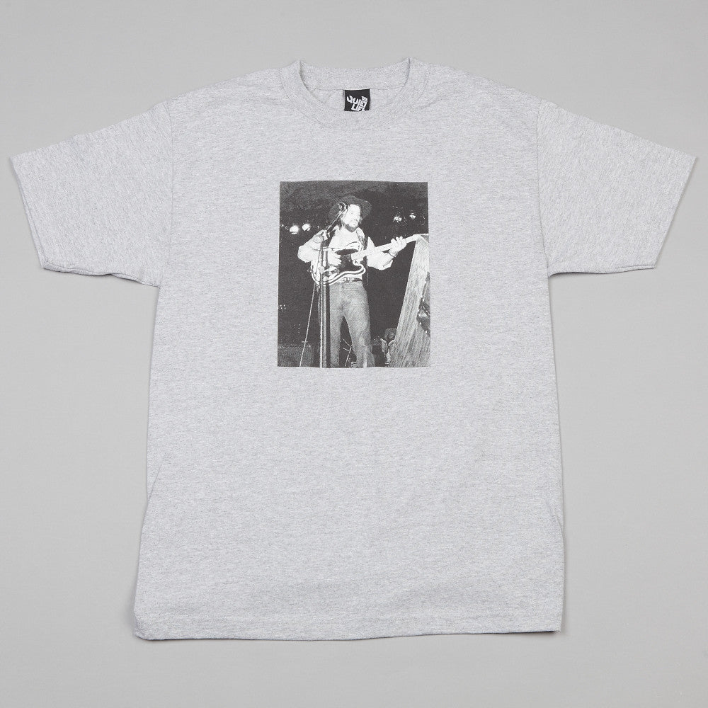The Quiet Life X Barb Edelblute Waylon T Shirt Heather Grey