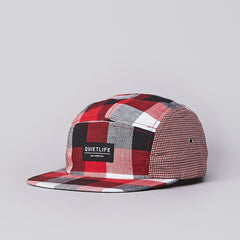 The Quiet Life Mixed Up 5 Panel Cap Red