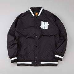 Undefeated Blackball Varsity Jacket Black