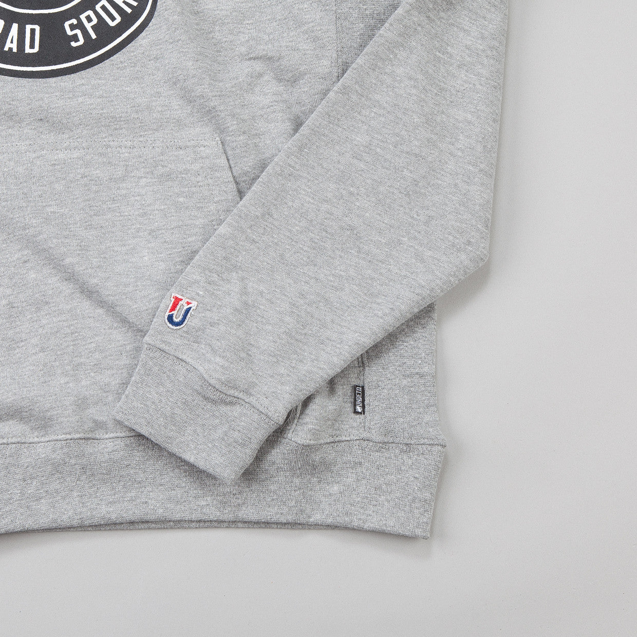 Undefeated BS Hooded Sweatshirt Grey Heather