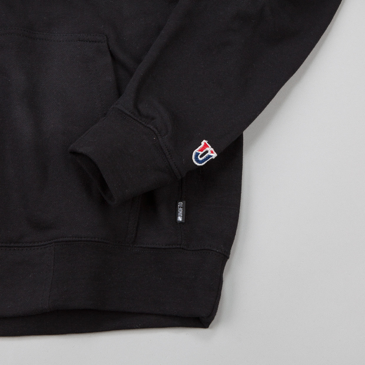 Undefeated BS Zip Hooded Sweatshirt Black