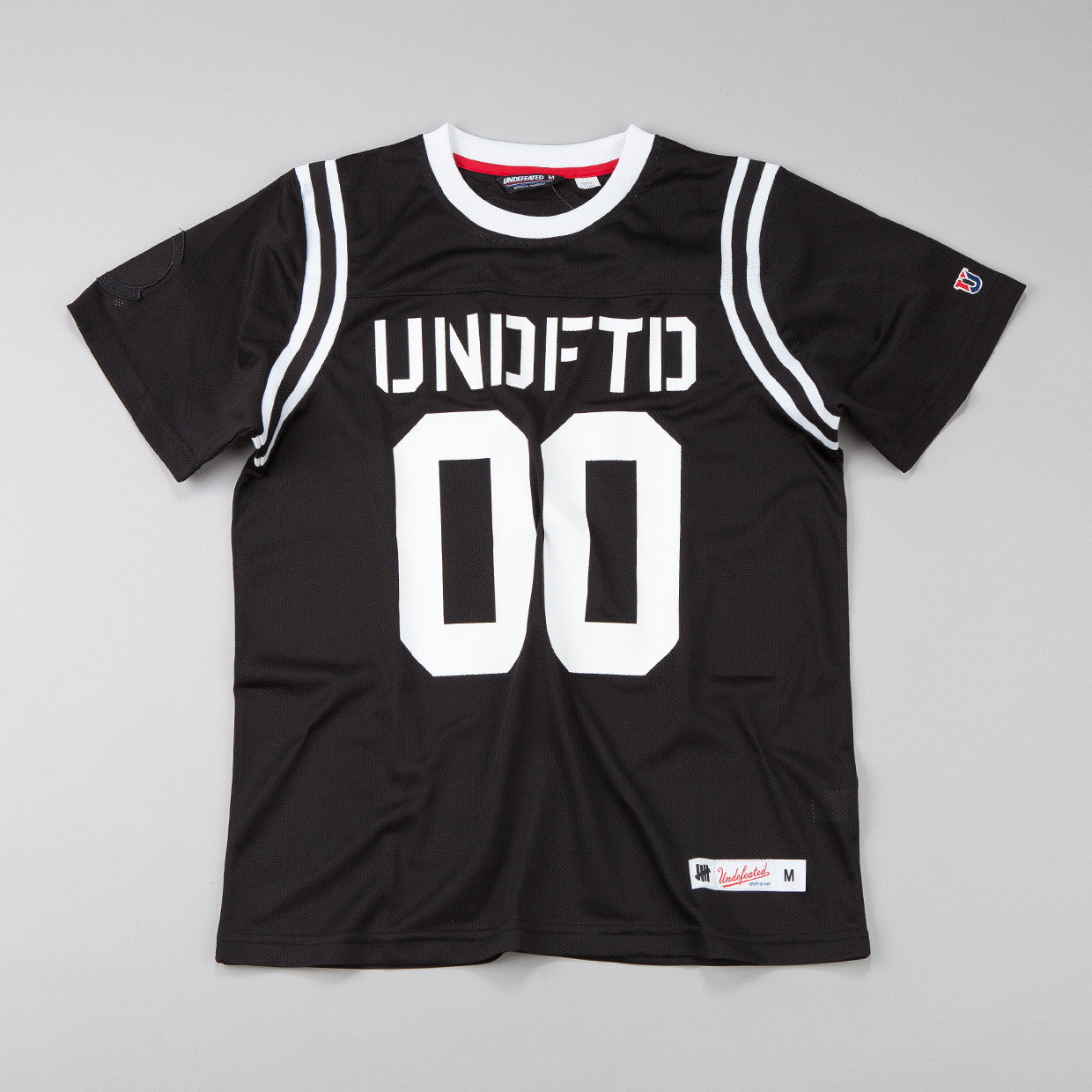 Undefeated Mesh Football T-shirt Black