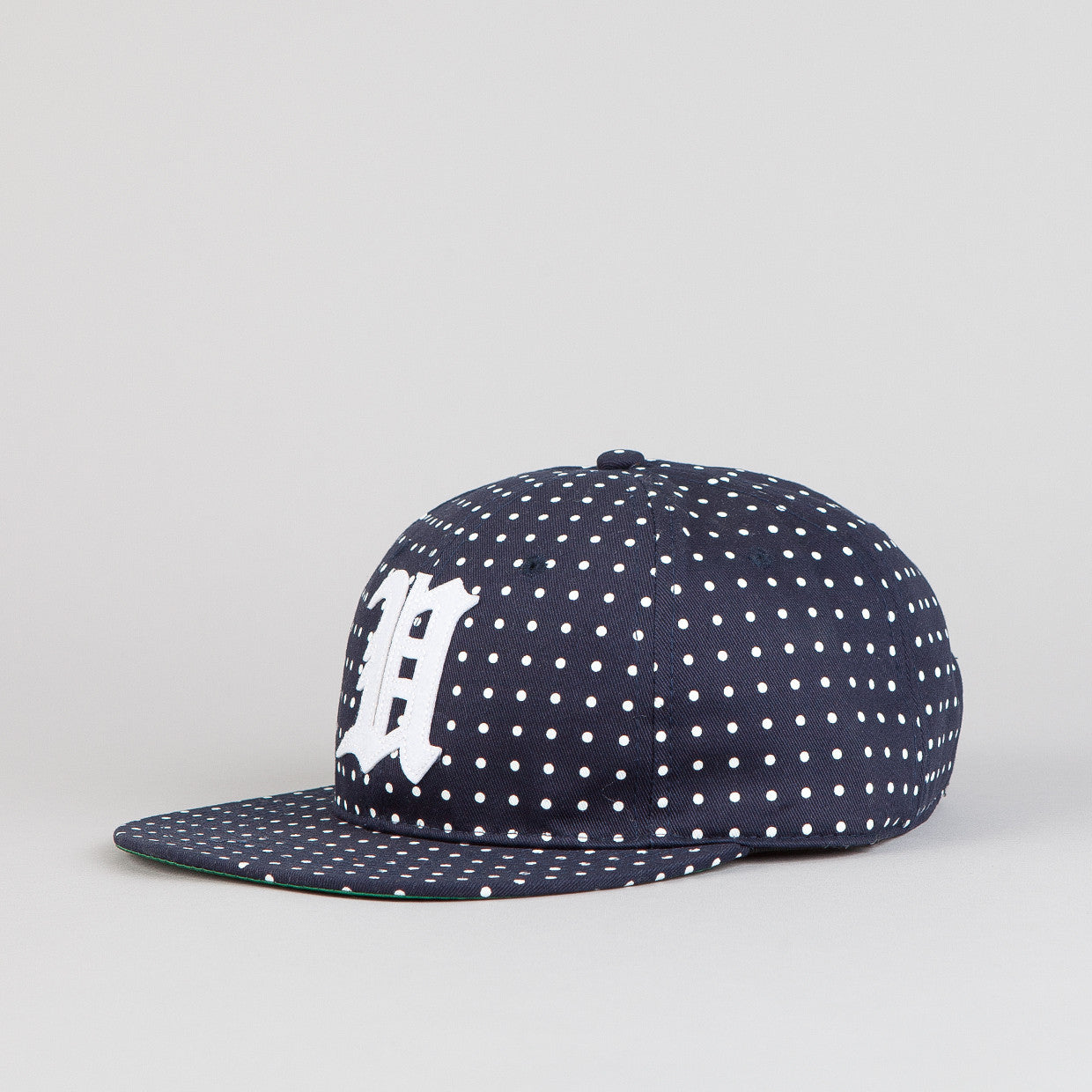 Undefeated U Dot Strapback Hat Navy