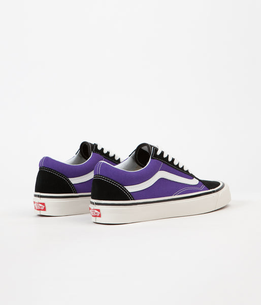 cfa4f3f89d Vans Old Skool 36 DX Anaheim Factory Shoes - Black   OG Bright Purple