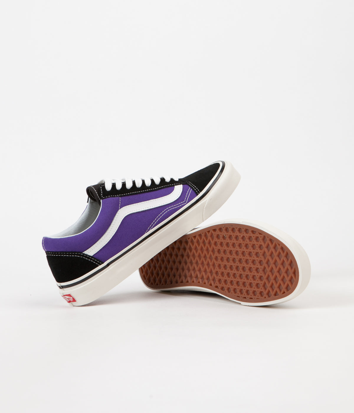 5617d73b79 ... Vans Old Skool 36 DX Anaheim Factory Shoes - Black   OG Bright Purple  ...