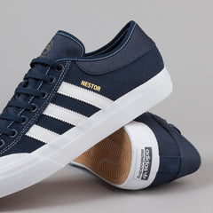 Adidas Matchcourt Shoes - Navy / FTW White / FTW White