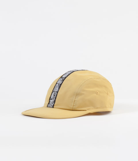 Adidas 3-Stripes 4 Panel Cap - Pyrite / White