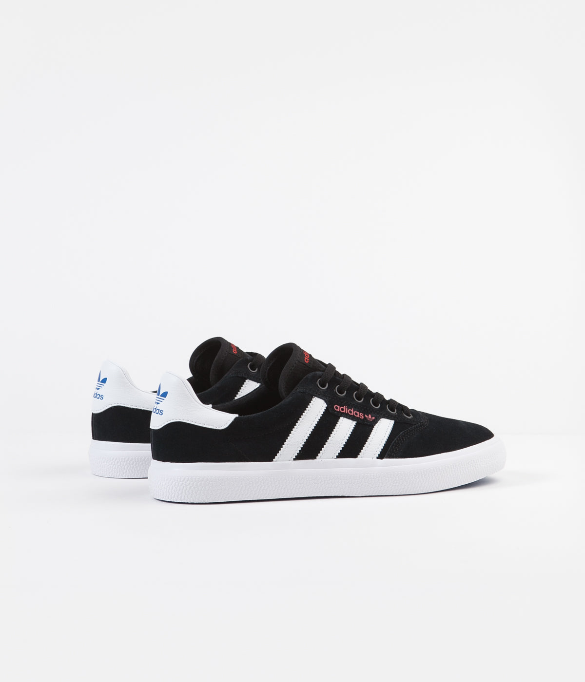 Adidas 3MC Shoes - Black / White / Red