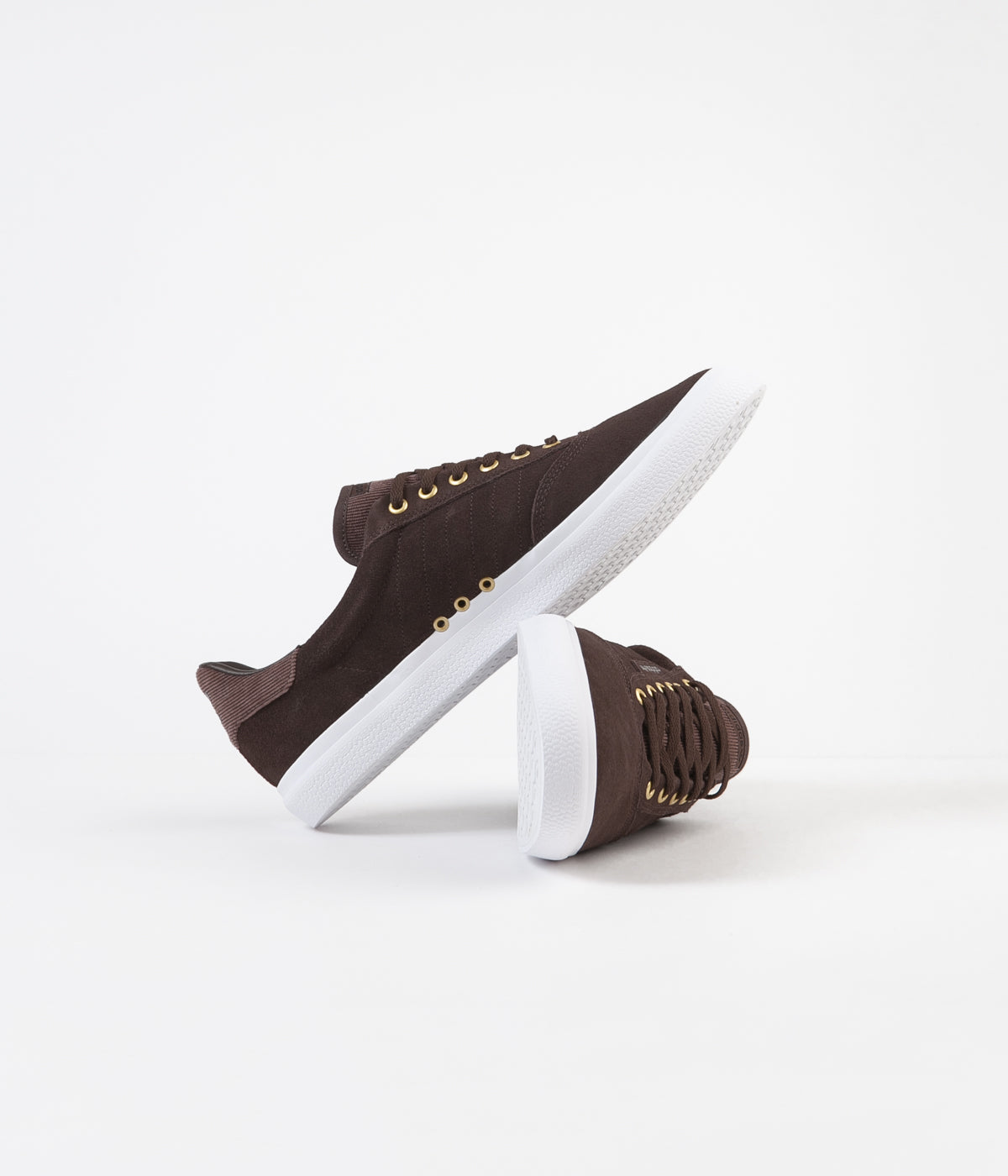 Adidas 3MC Shoes - Brown / White / Gold Metallic