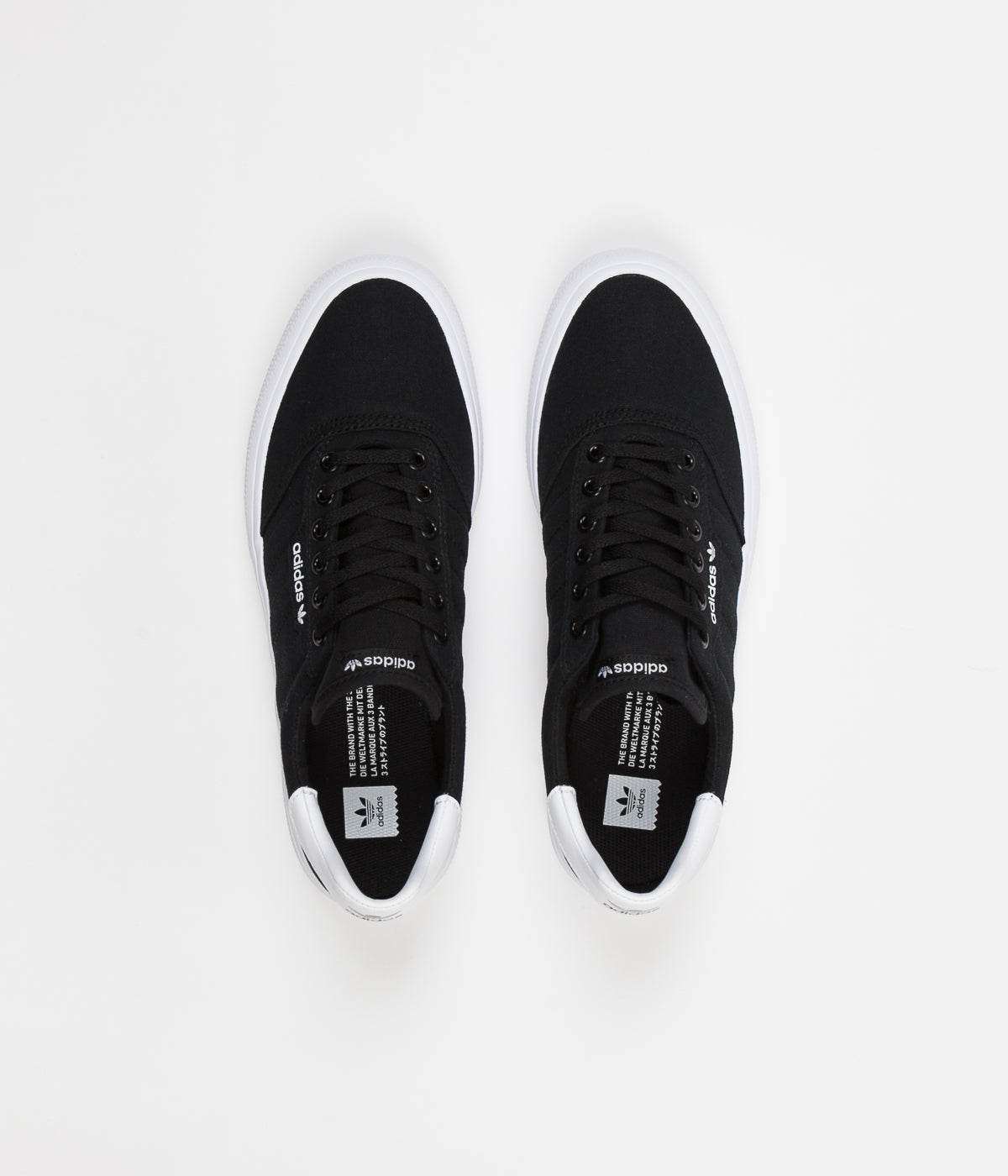 Adidas 3MC Shoes - Core Black / Core Black / FTW White