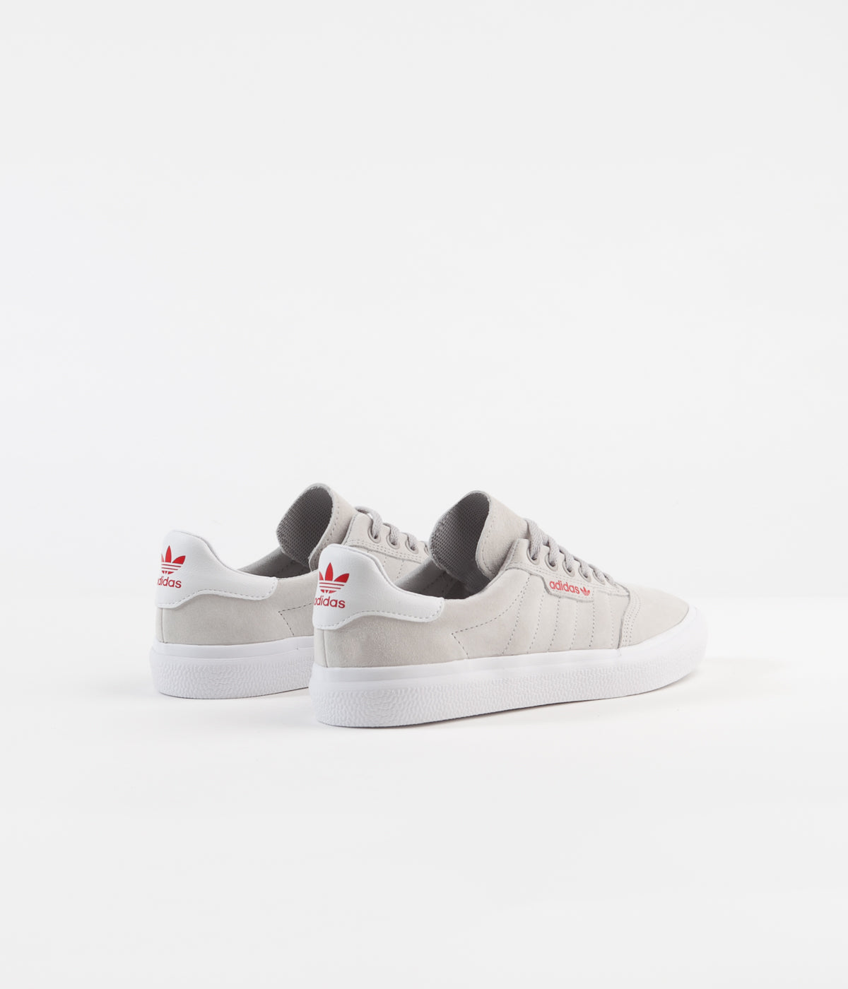 Adidas 3MC Shoes - Grey Two / White / Scarlet