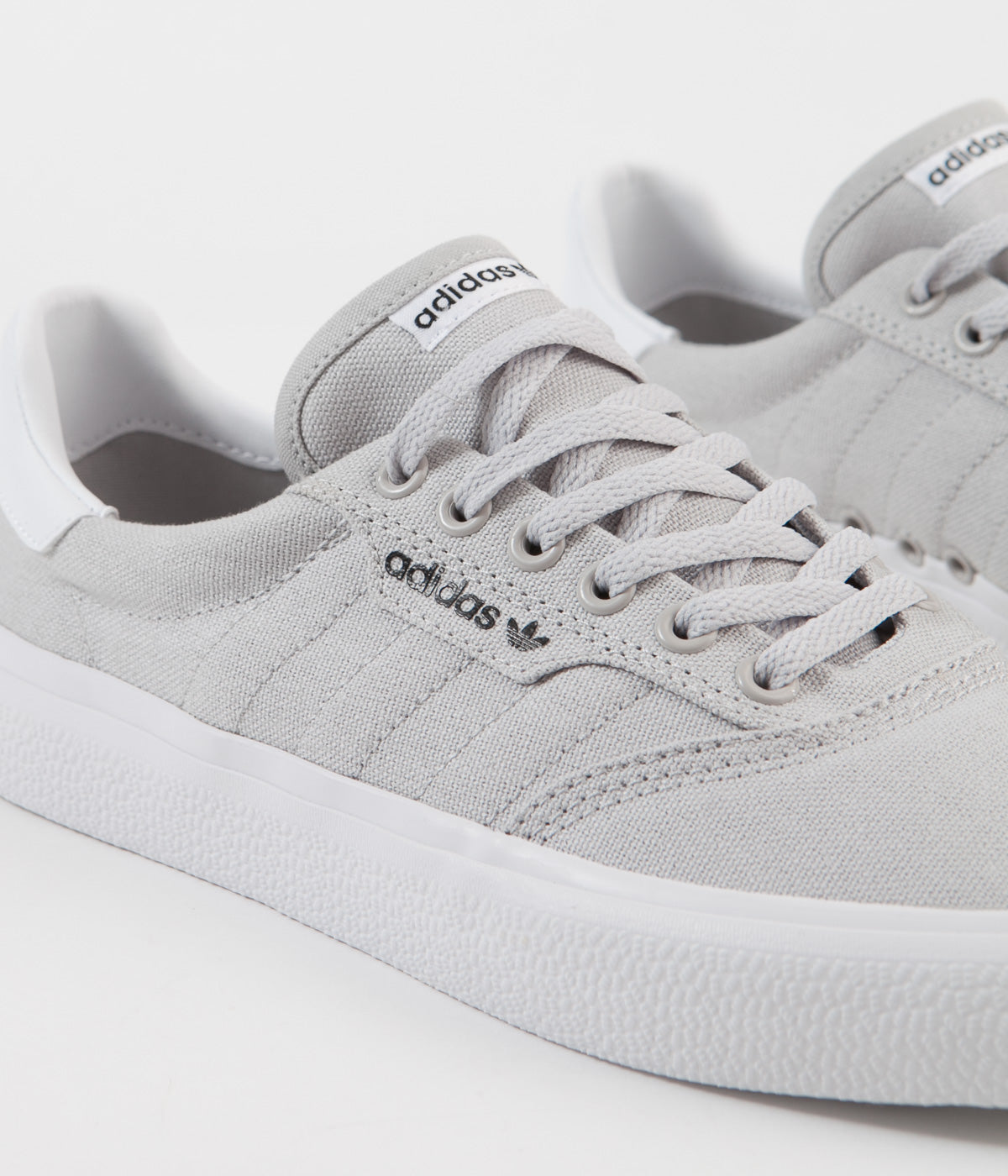 Adidas 3MC Shoes - Light Solid Grey / Light Solid Grey / White