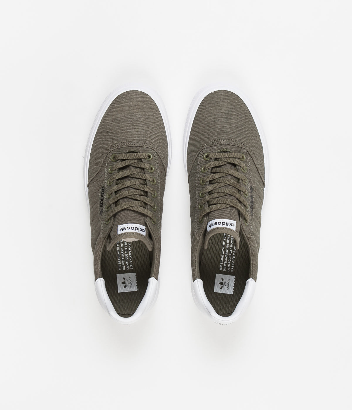 Adidas 3MC Shoes - Raw Khaki / Raw Khaki / White