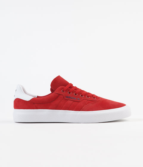 Adidas 3MC Shoes - Scarlet / White / Collegiate Navy