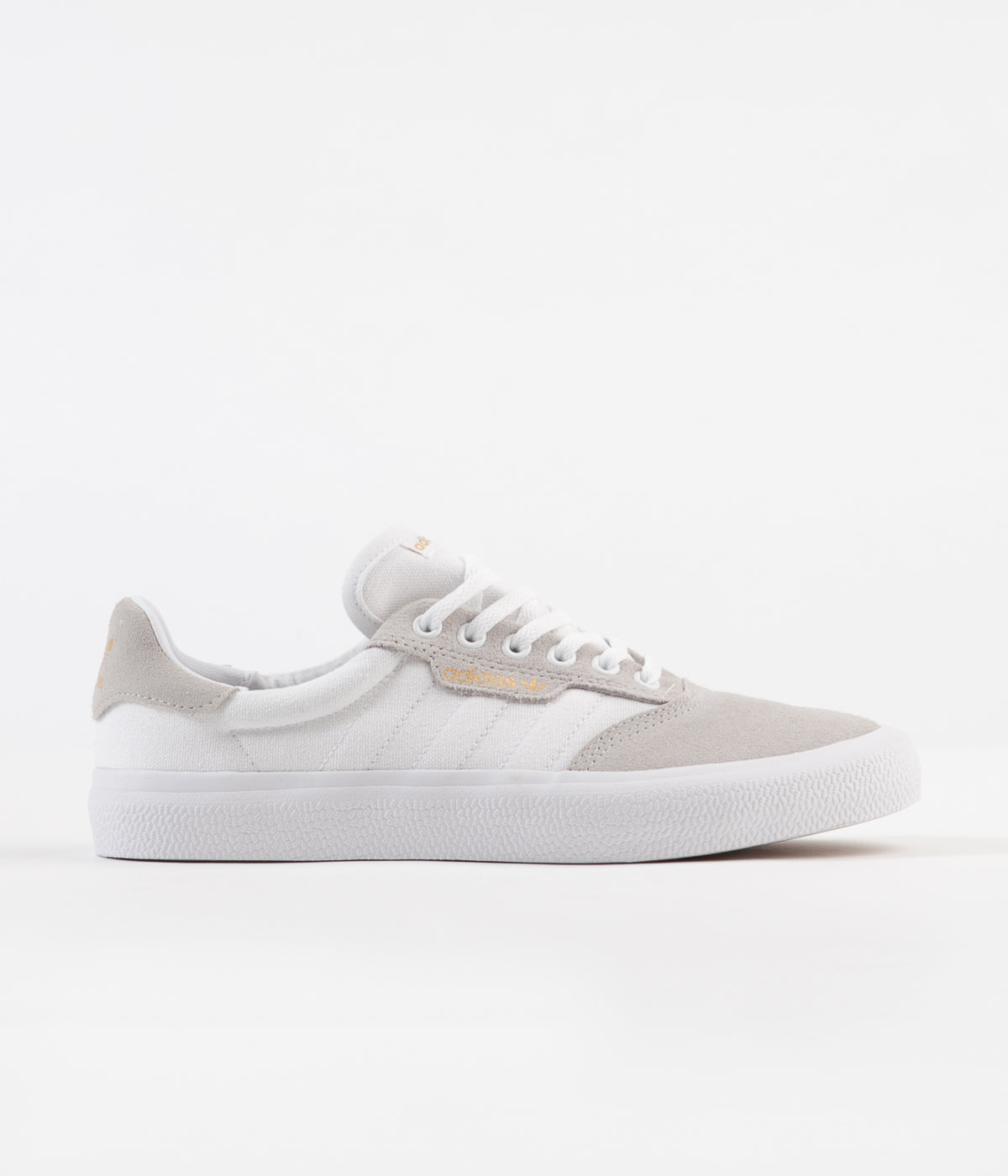 Adidas 3MC Shoes - White / Crystal White / Metallic Gold
