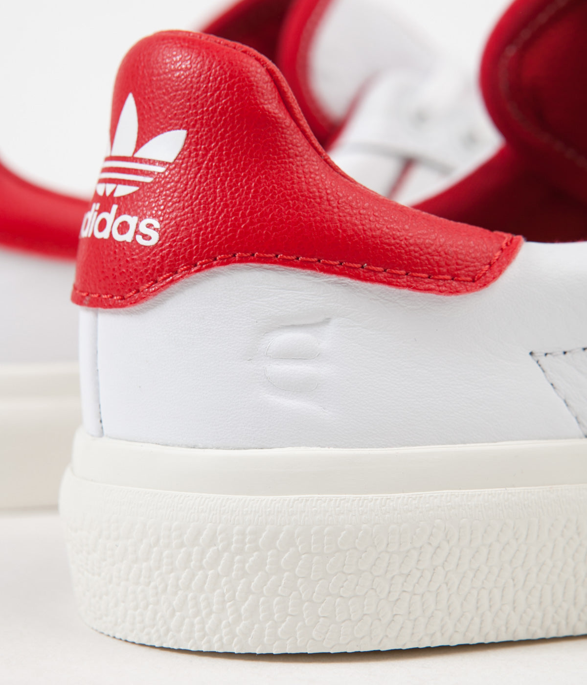 Adidas 3MC x Evisen Shoes - White / Scarlet / Gold Metallic