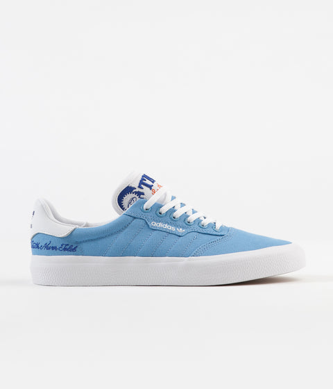 Adidas 3MC x Truth Never Told Shoes - Light Blue / White / Royal