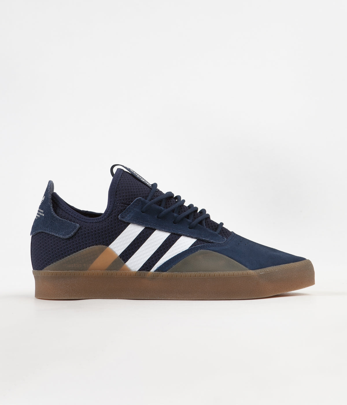 0e7556725e5b Adidas 3ST.001 Shoes - Collegiate Navy   FTW White   Gum4