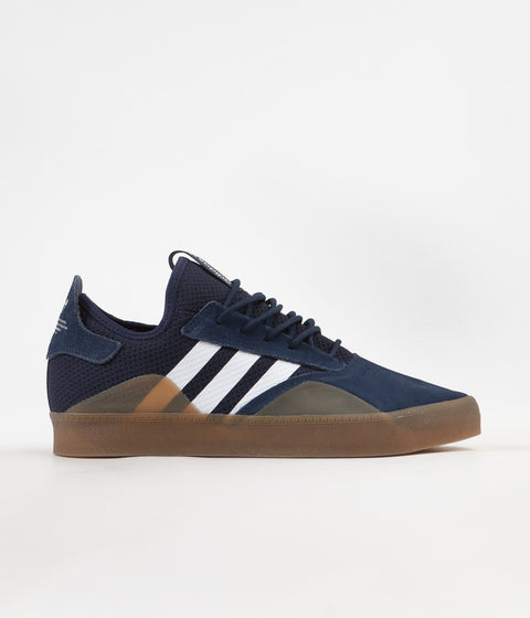 Adidas 3ST.001 Shoes - Collegiate Navy / FTW White / Gum4