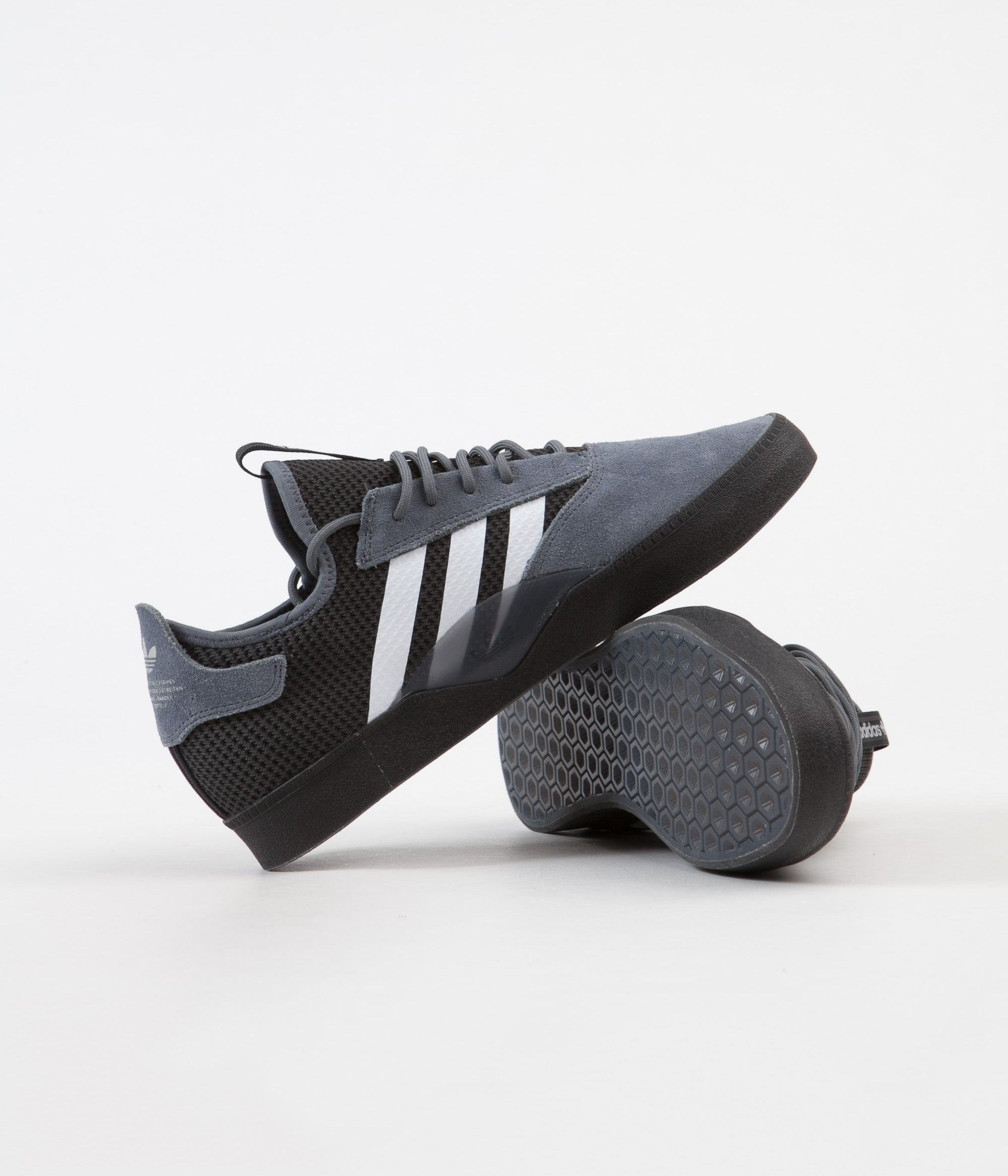 Adidas 3ST.001 Shoes Onix FTW White Core Black | Flatspot