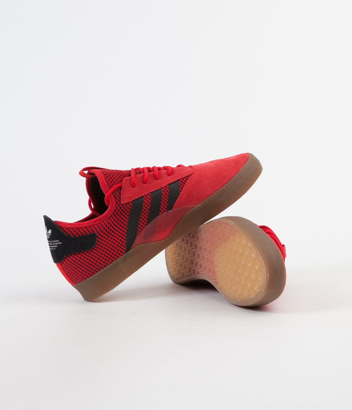 cheap for discount 08aac 504b6 ... Adidas 3ST.001 Shoes - Scarlet  Core Black  Gum4 ...