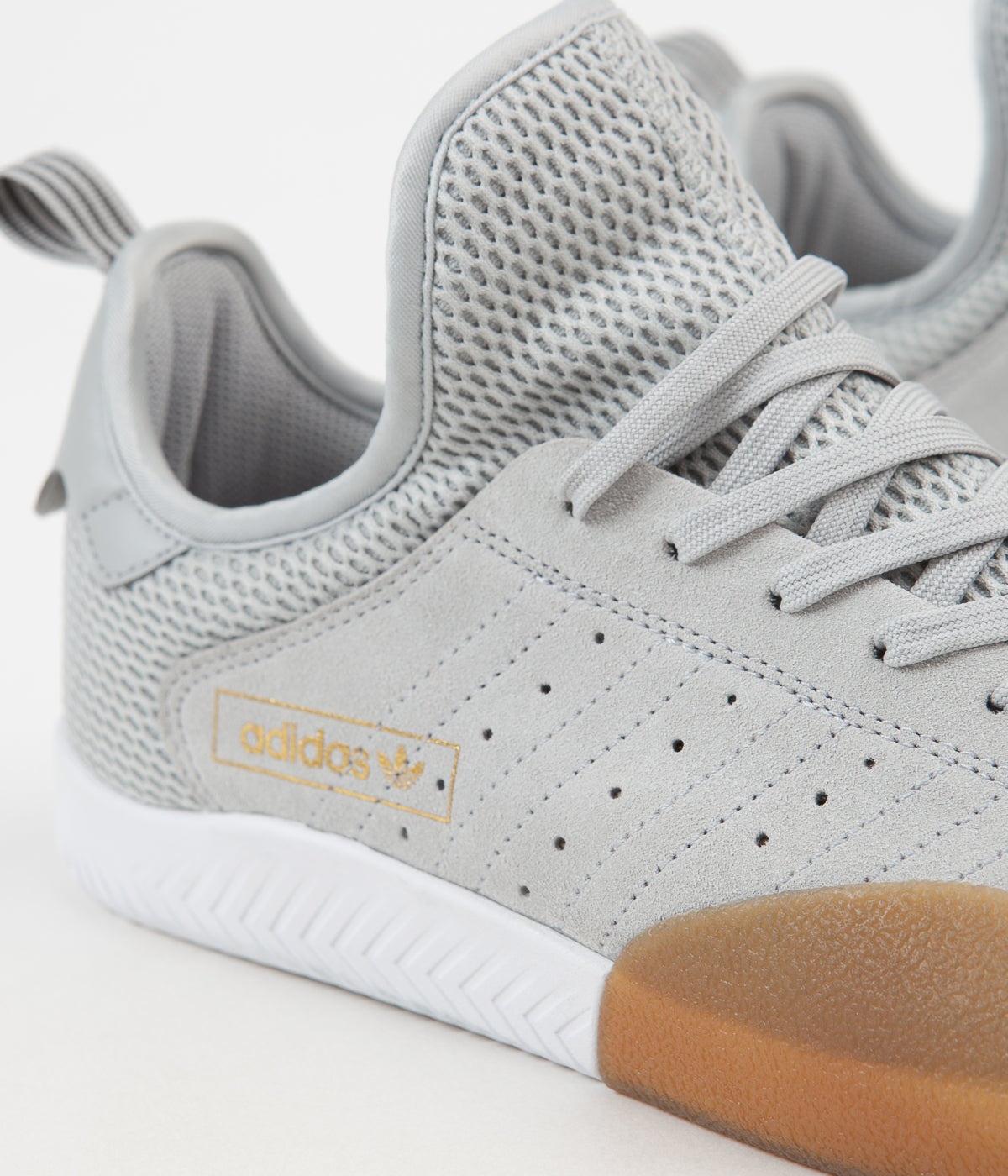 Adidas 3ST.003 Shoes - Clear Onix / Grey Five / FTW White