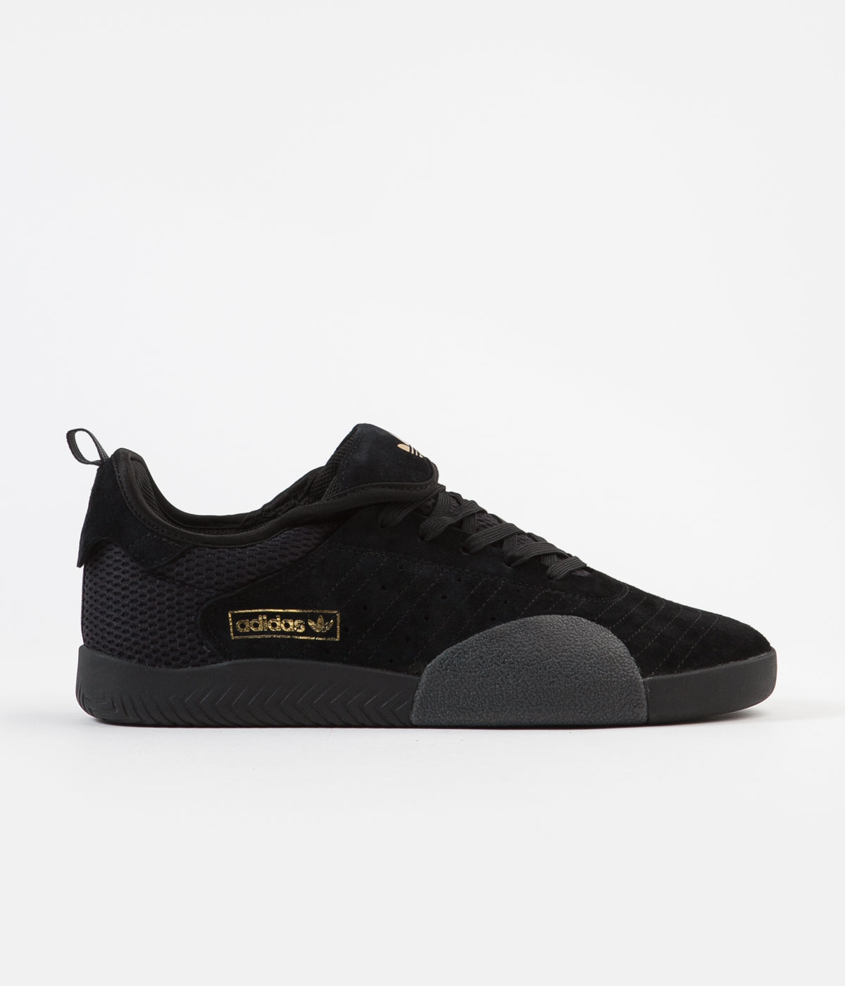 Adidas 3ST.003 Shoes - Core Black / White / Gold Metallic