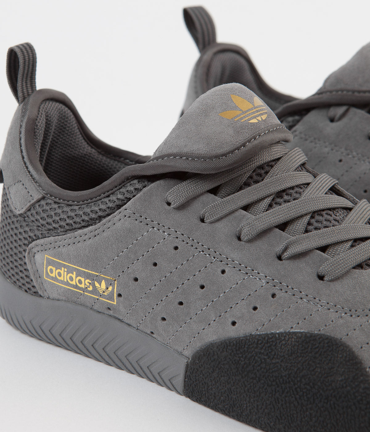 Adidas 3ST.003 Shoes - Grey Four / Carbon / Gold Metallic