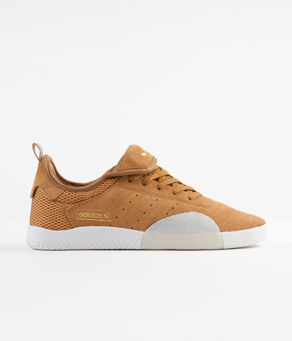 Adidas 3ST.003 Shoes - Mesa / White / Gold Metallic