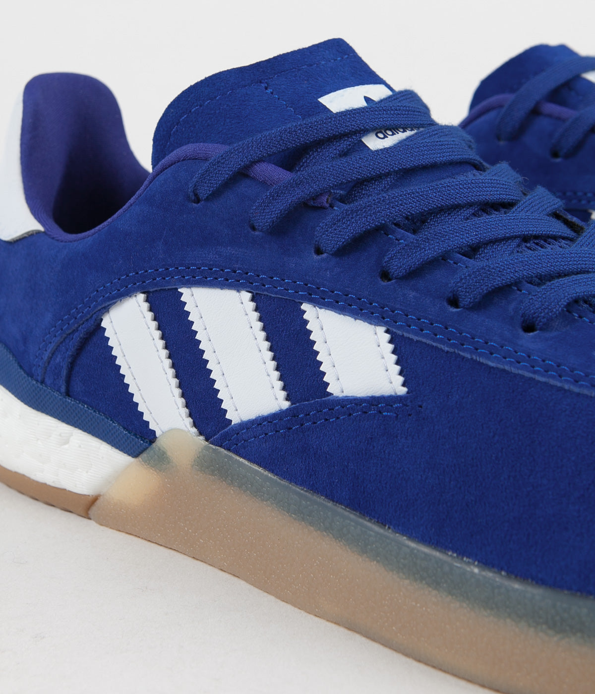 Adidas 3ST.004 Shoes - Collegiate Royal / White / Antique Silver