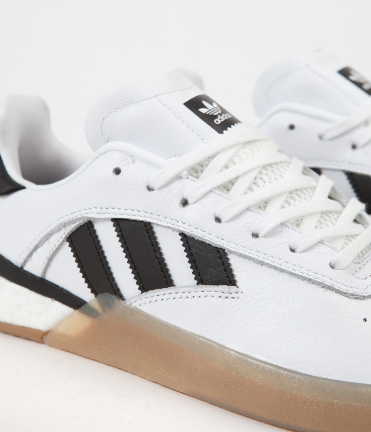 Adidas 3ST.004 Shoes - White / Core Black / Gum4