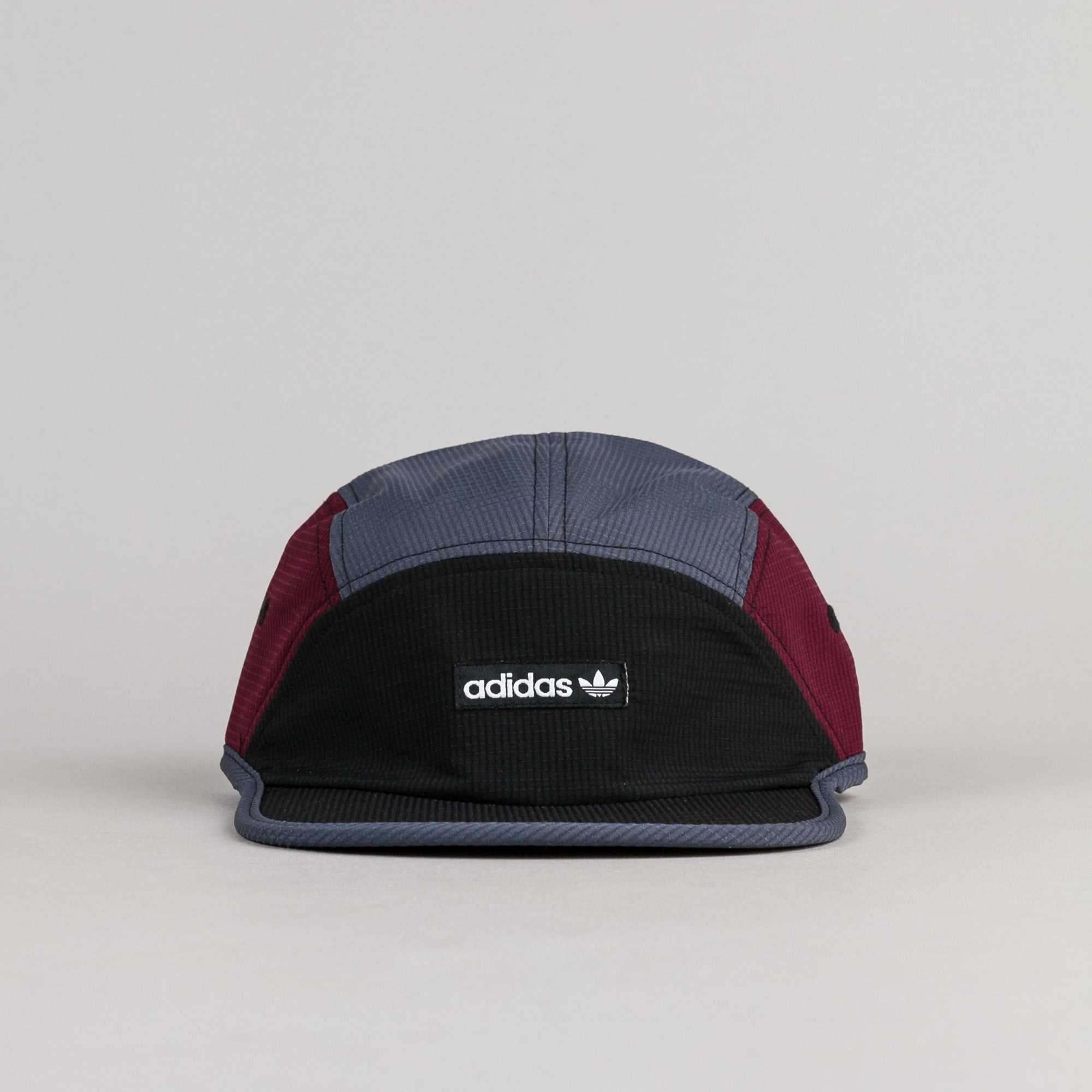 Adidas 5 Panel 2 Cap - Black / Utility Blue / Maroon