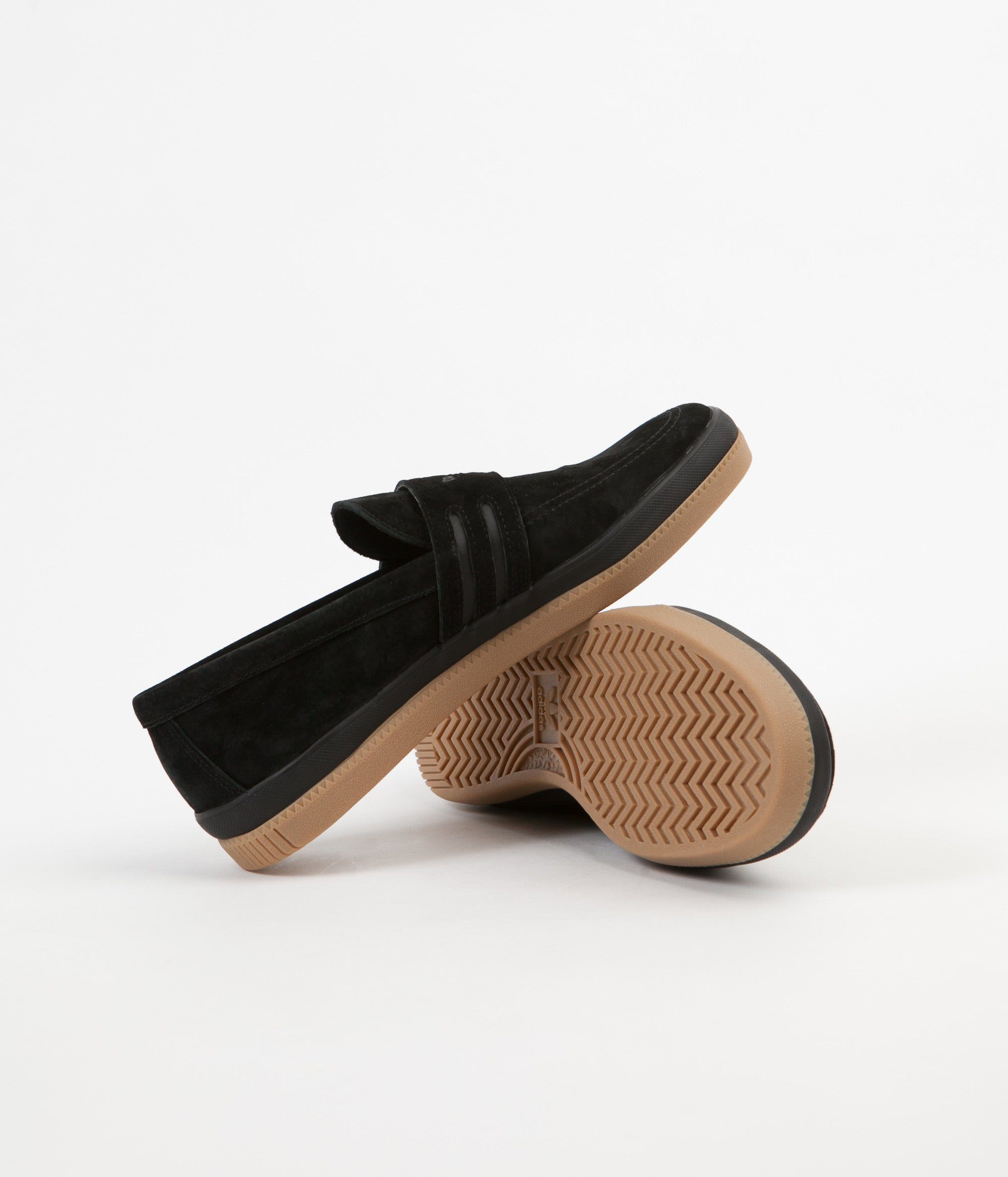 Adidas Acapulco Shoes - Core Black / Core Black / Gum4