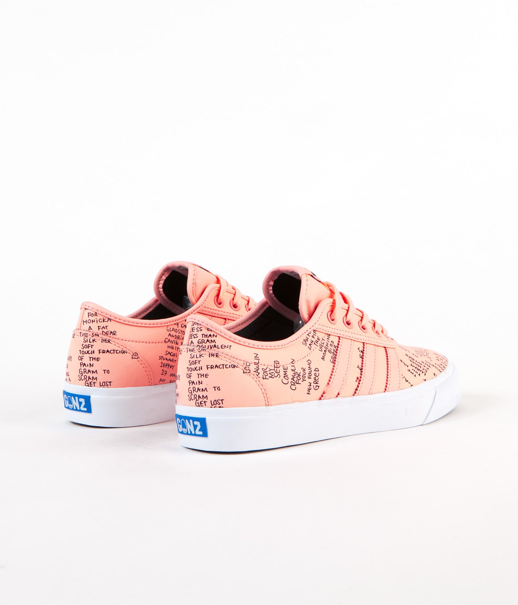 Adidas Adi-Ease Classified Shoes - Haze Coral / Core Black / Bluebird