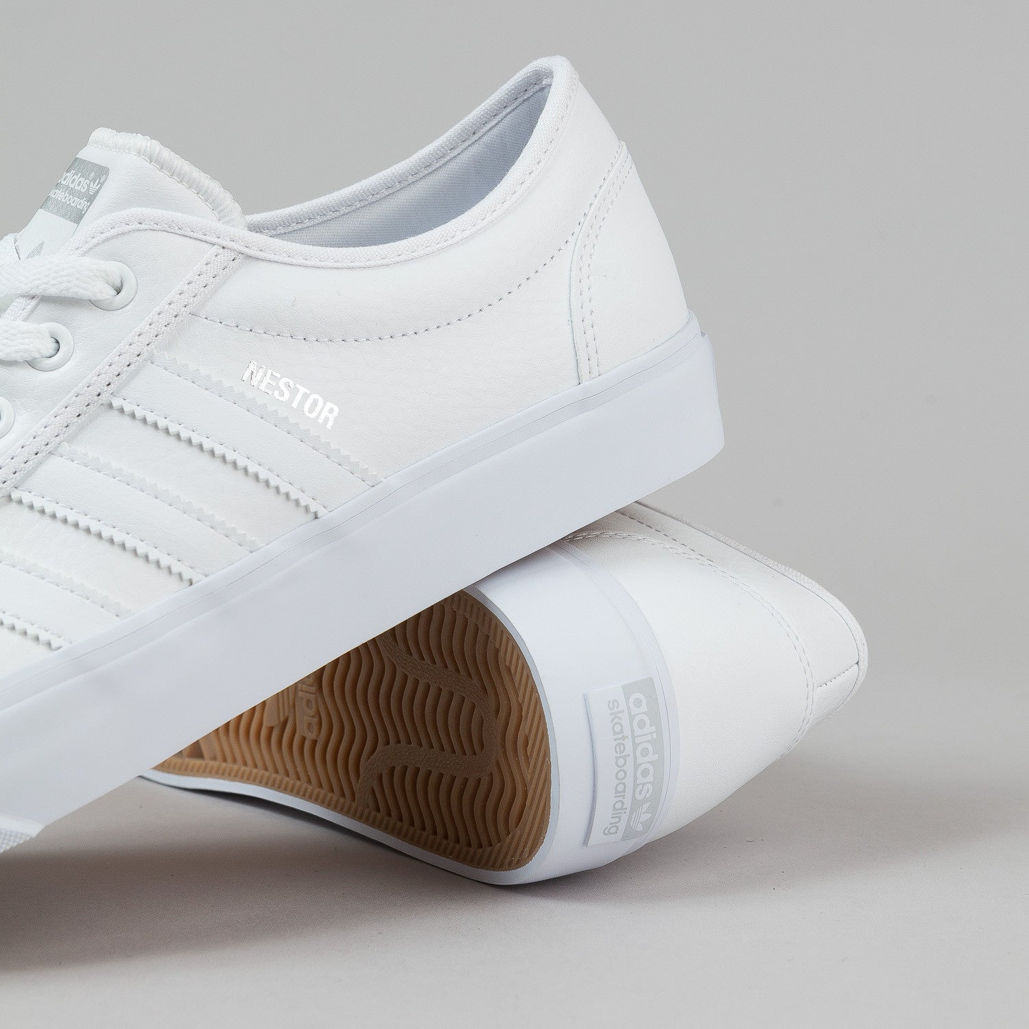 Adidas Adi Ease 'Nestor' Shoes - Running White / Clear Grey
