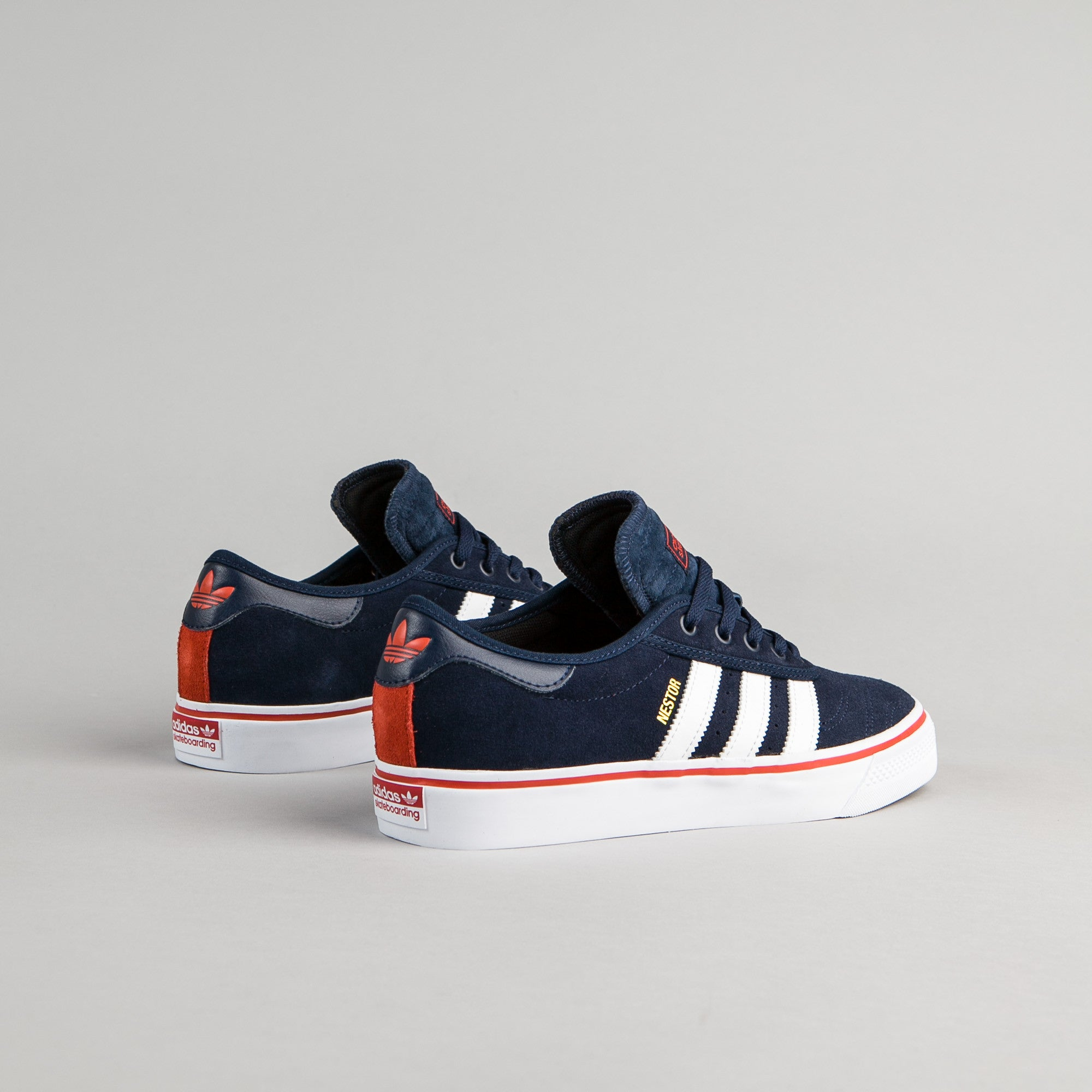 Adidas Adi-Ease Premiere ADV Shoes - Collegiate Navy / White / Craft Chili