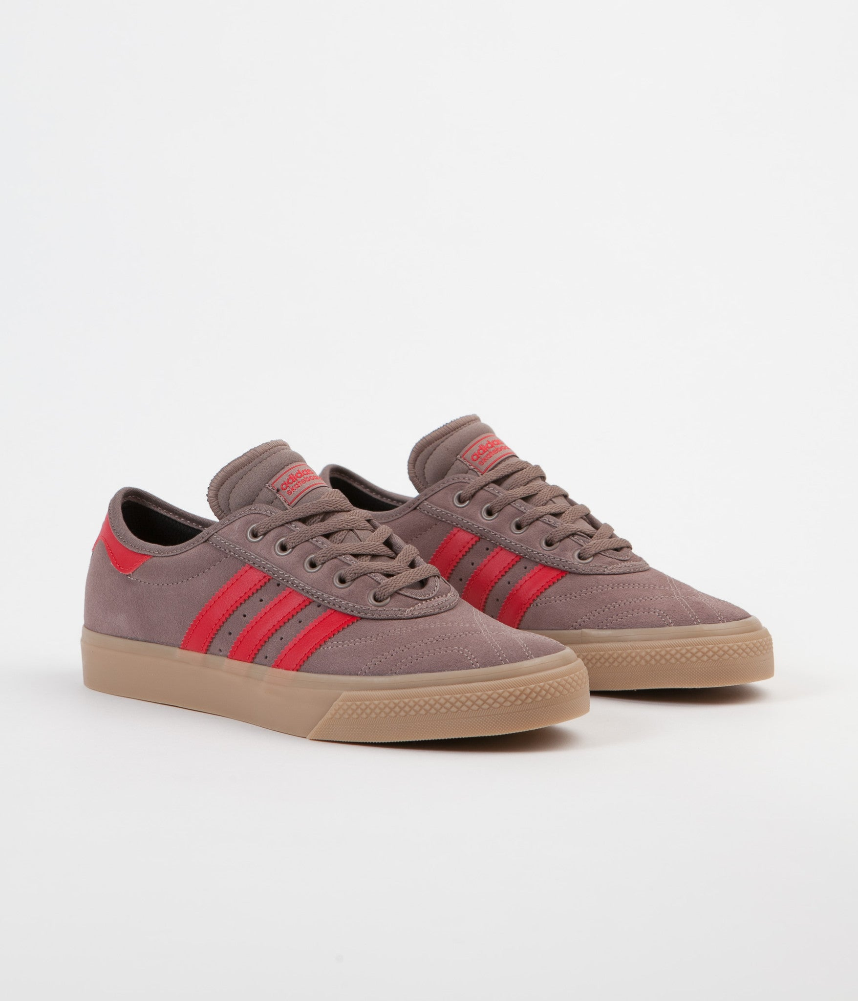 Adidas Adi-Ease Premiere Adv Shoes - Trace Brown / Scarlet / Gum