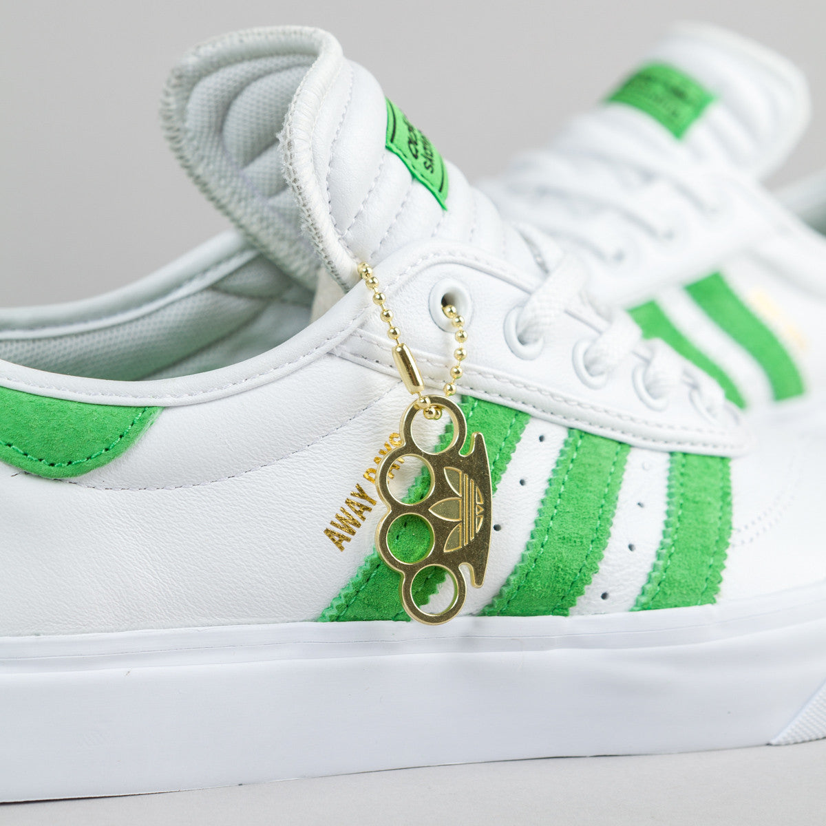 Adidas Adi-Ease Premiere Away Days Shoes - White / Lime / Gum