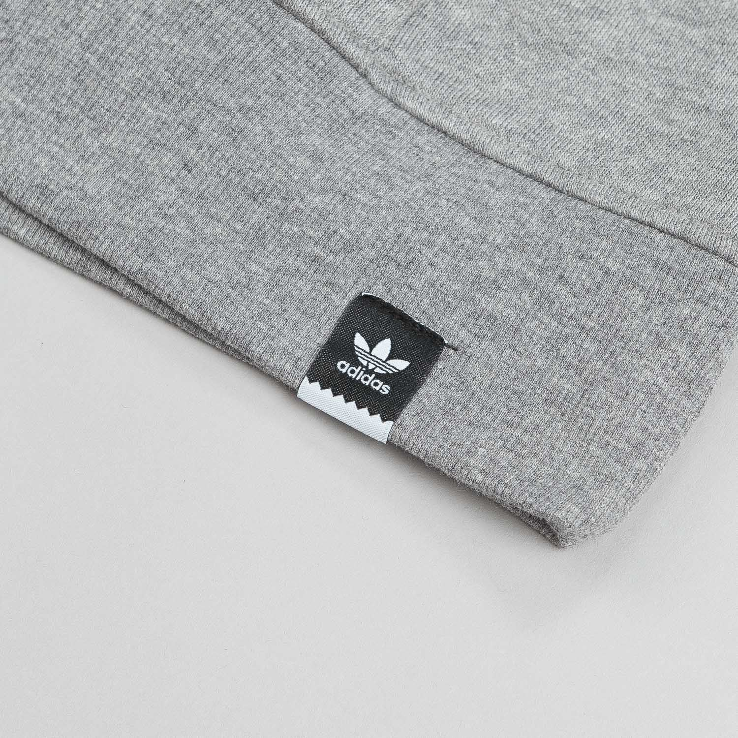 Adidas Adv 2.0 Hooded Sweatshirt - Core Heather Grey / Core Navy