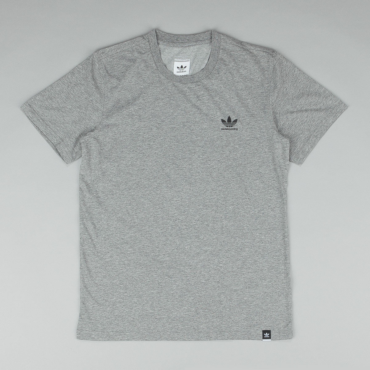 Adidas Adv 2.0 Logo T-Shirt - Core Heather Grey