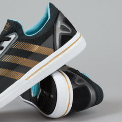 Adidas ADV Boost Shoes - Core Black / Copper Metallic / Light Aqua