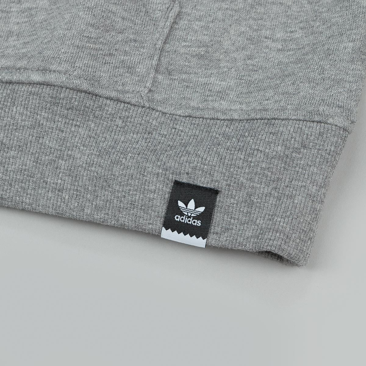 Adidas Adv Hooded Sweatshirt - Core Heather Grey / Faded Ink