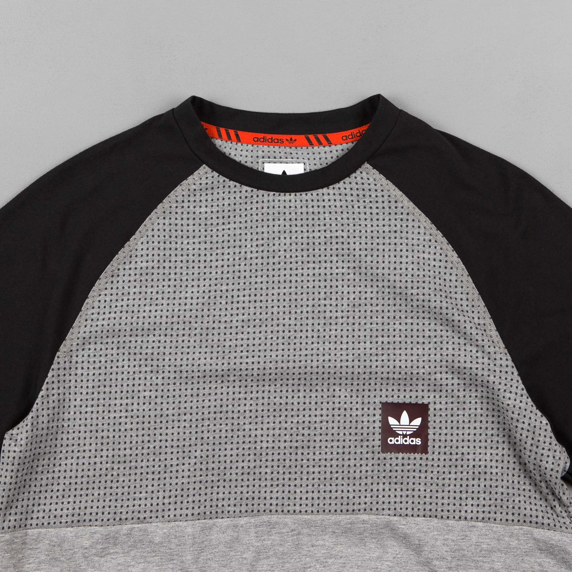 Adidas Aeroknit Raglan T-Shirt - Core Heather / Black