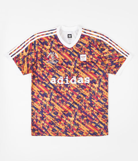 Adidas All Over Print Club Jersey - Multicolor / White