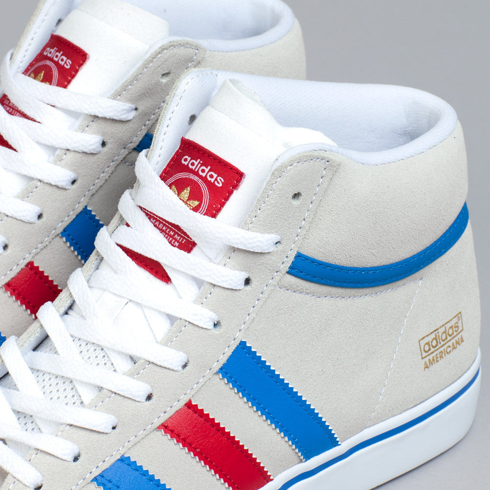 Adidas Americana Vin Mid Running White / Bluebird / University Red