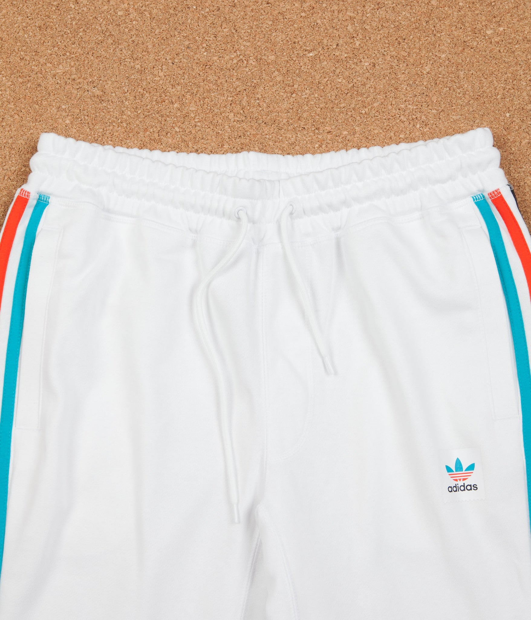 Adidas Blackbird Sweatpants - White / Energy Blue / Energy / Black
