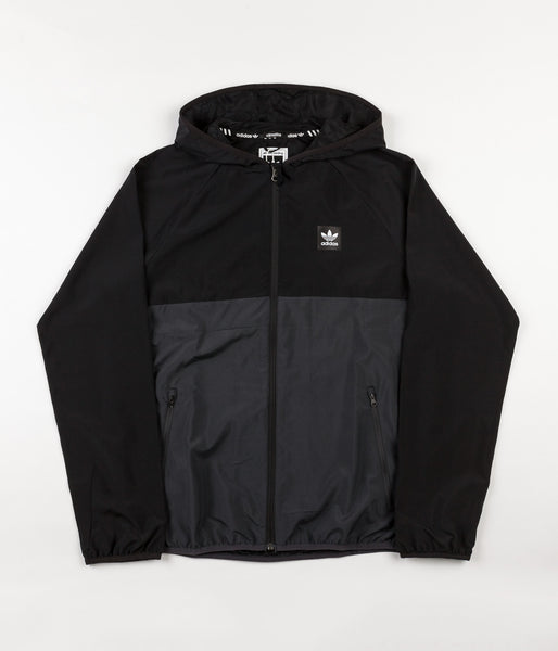 Adidas Blackbird Windbreaker Jacket - Black / Carbon