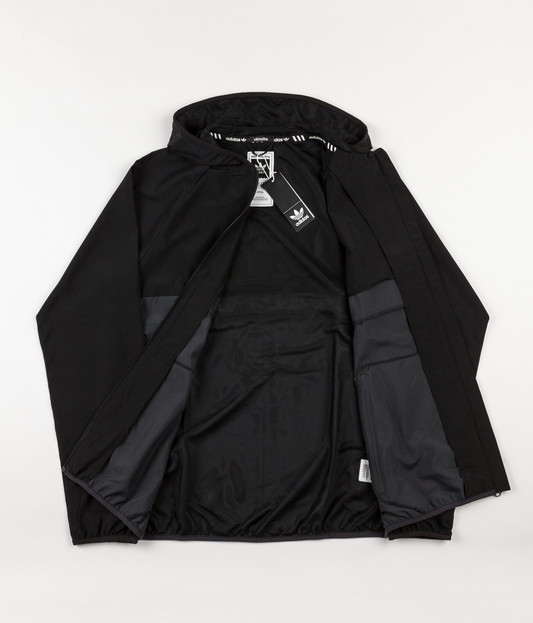 buy popular 430ba bb514 ... Adidas Blackbird Windbreaker Jacket - Black   Carbon ...